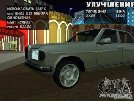 SA HQ Wheels para GTA San Andreas twelth pantalla
