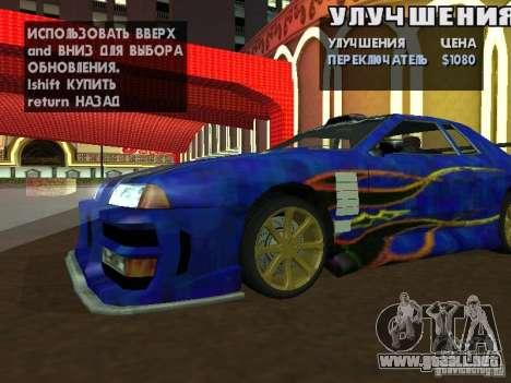 SA HQ Wheels para GTA San Andreas quinta pantalla