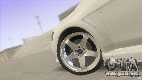 Mitsubishi Lancer Evo IX DIM para visión interna GTA San Andreas