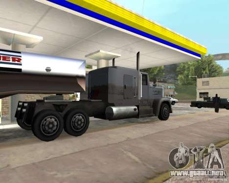 Packer Truck para GTA San Andreas left
