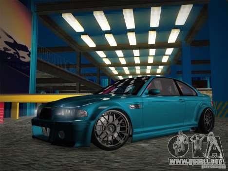 BMW E46 Drift II para vista lateral GTA San Andreas