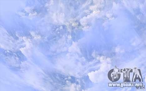 Real Sky Efects para GTA San Andreas sucesivamente de pantalla