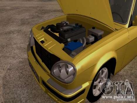 Volga GAZ 31107 para GTA San Andreas vista hacia atrás