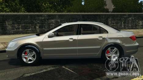 Honda Acura RL para GTA 4 left