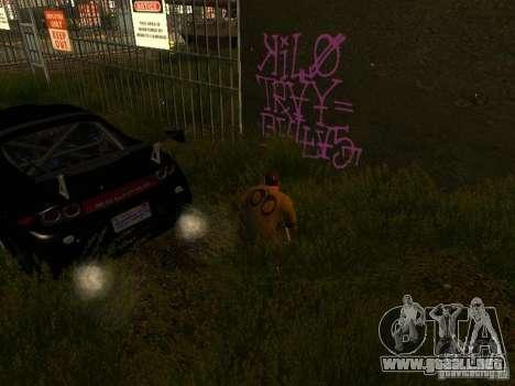 Bombing Mod by Empty v3.0 para GTA San Andreas tercera pantalla