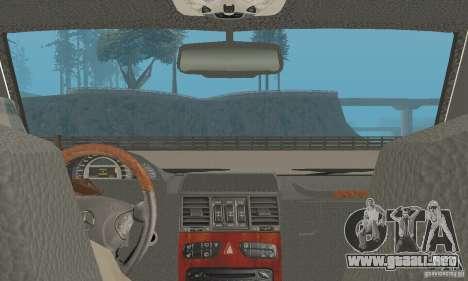 Mercedes-Benz G500 Zailer 2004 para GTA San Andreas vista hacia atrás