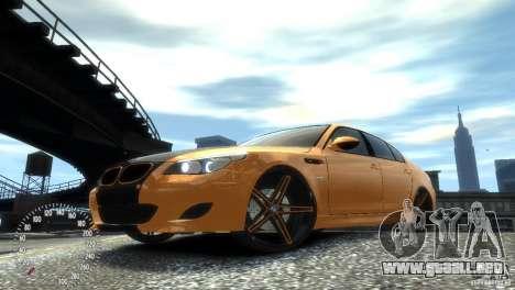 BMW M5 E60 para GTA 4 left