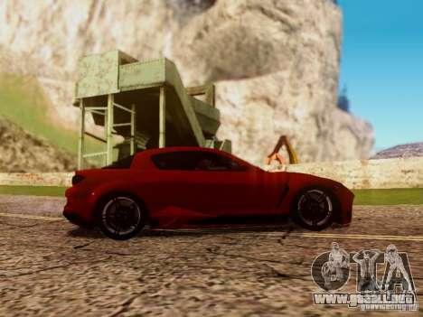 Mazda RX8 Reventon para visión interna GTA San Andreas