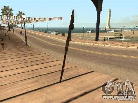Lanza para GTA San Andreas segunda pantalla