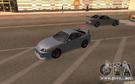 Toyota Supra Mark IV para la visión correcta GTA San Andreas