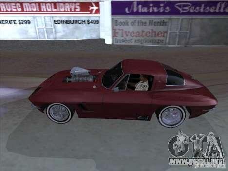Chevrolet Corvette Big Muscle para GTA San Andreas left