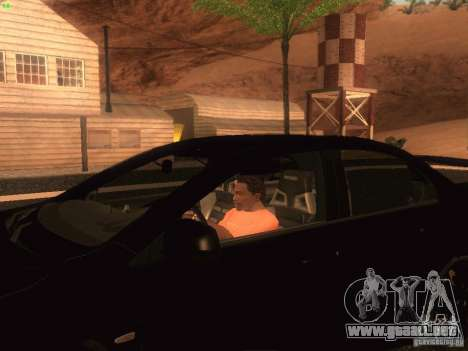 Mitsubishi  Lancer Evo X BMS Edition para GTA San Andreas left