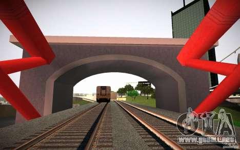 HD Red Bridge para GTA San Andreas tercera pantalla