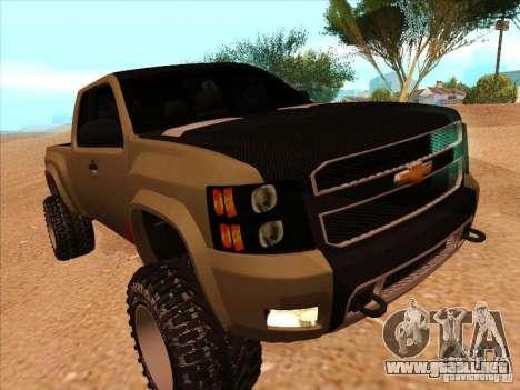 Chevrolet Silverado ZR2 para GTA San Andreas left