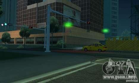 Luces verdes para GTA San Andreas sexta pantalla