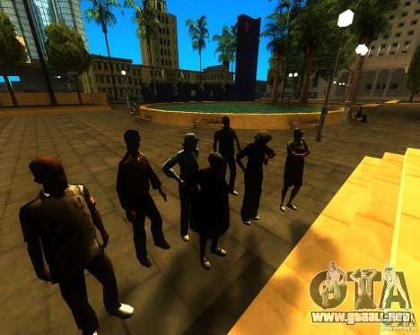 Apelación de la alcaldía a los habitantes del es para GTA San Andreas tercera pantalla