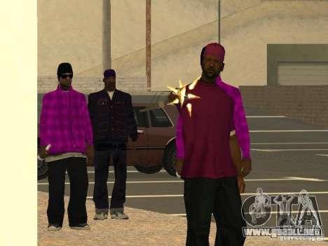 Nuevos aspectos Ballas para GTA San Andreas tercera pantalla