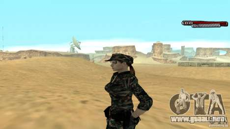 Soldado HD para GTA San Andreas segunda pantalla