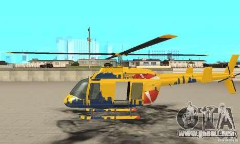 El helicóptero de consejos de gta 4 para GTA San Andreas left