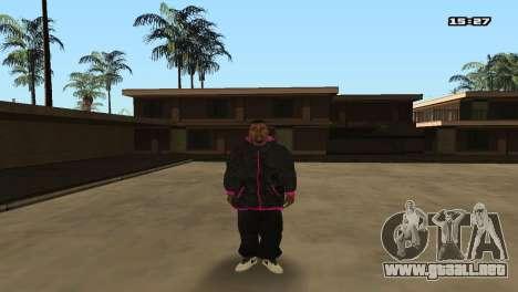 Skin Pack Ballas para GTA San Andreas sucesivamente de pantalla
