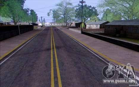 Campo HQ para GTA San Andreas tercera pantalla