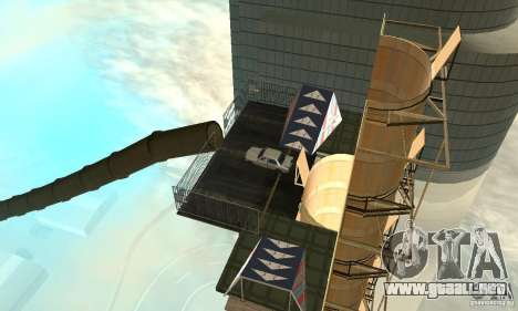 Airport Stunt para GTA San Andreas sexta pantalla