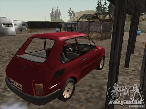 Fiat 126p Elegant para la visión correcta GTA San Andreas