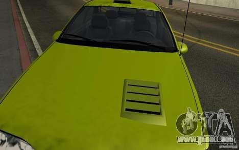 Ford Thunderbird 1993 para la visión correcta GTA San Andreas