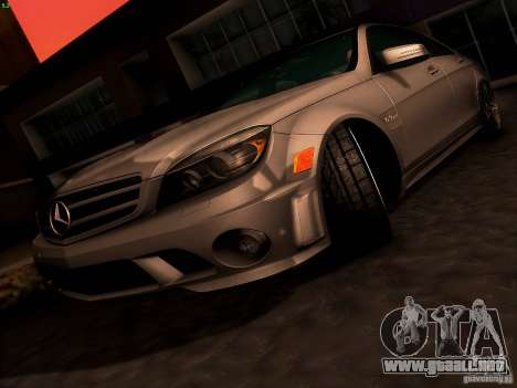 Mercedes-Benz C36 AMG para las ruedas de GTA San Andreas