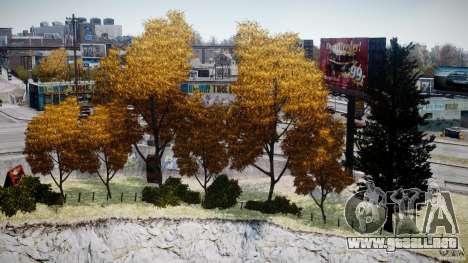Realistic trees 1.2 para GTA 4 adelante de pantalla
