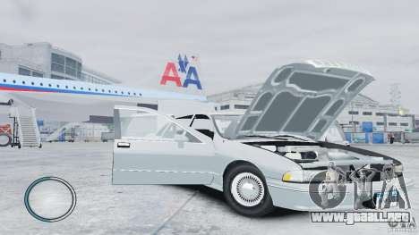 Chevrolet Caprice 1993 para GTA 4 vista lateral