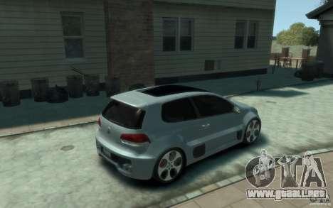 Volkswagen Golf W12-650 para GTA 4 visión correcta