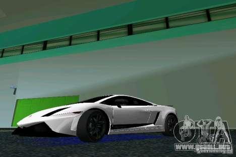 Lamborghini Gallardo LP570 SuperLeggera para GTA Vice City left