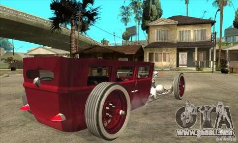 HotRod sedan 1920s no extra para la visión correcta GTA San Andreas