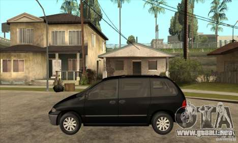 Dodge Caravan 1996 para GTA San Andreas left