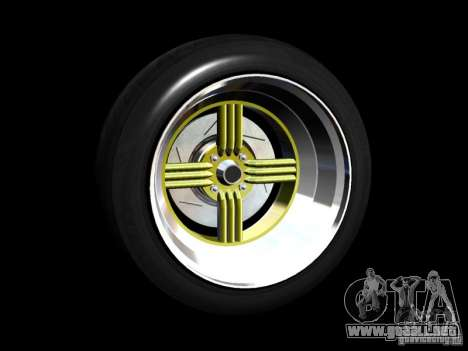 Old School Rims Pack para GTA San Andreas twelth pantalla