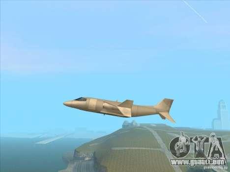 Cargo Shamal para GTA San Andreas left