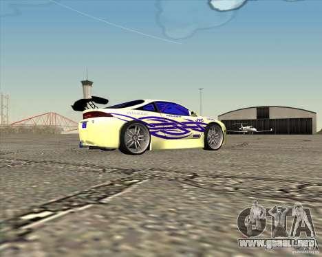 Mitsubishi Eclipse street tuning para GTA San Andreas left