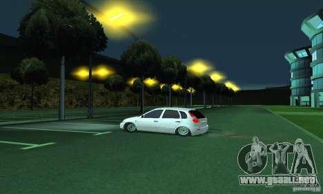 Lada Kalina Hatchback para la visión correcta GTA San Andreas