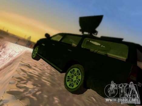Suv Call Of Duty Modern Warfare 3 para vista inferior GTA San Andreas