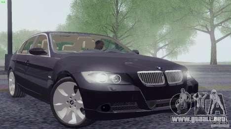 BMW 330i e90 para GTA San Andreas