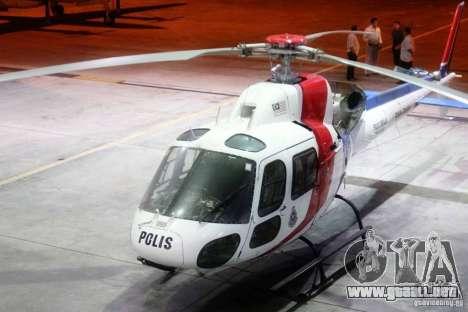 Eurocopter AS350 Ecureuil (Squirrel) Malaysia para GTA 4