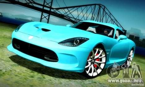 Dodge Viper SRT  GTS para GTA San Andreas