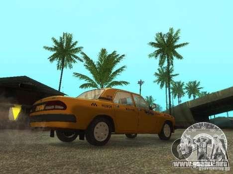 Taxi Volga GAZ 3110 para visión interna GTA San Andreas