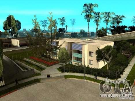 New Grove Street TADO edition para GTA San Andreas octavo de pantalla