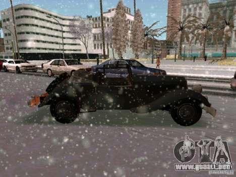 Auto sabotaje juego para la visión correcta GTA San Andreas