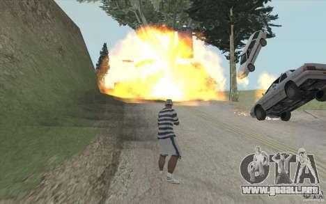 Ola de fuego para GTA San Andreas