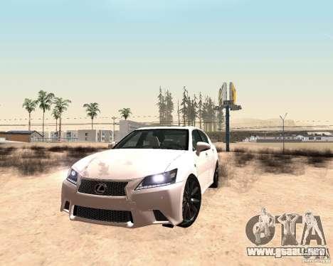 Star ENBSeries by Nikoo Bel SA-MP para GTA San Andreas quinta pantalla