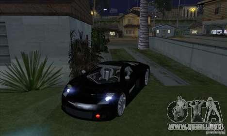 Faros de Xenon (faros de xenón) para GTA San Andreas sucesivamente de pantalla