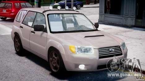 Subaru Forester v2.0 para GTA 4 vista interior